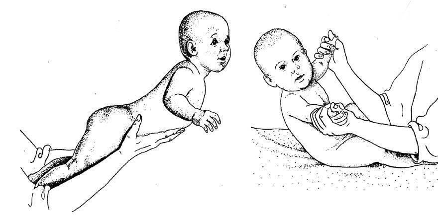 Как легко научить ребенка самостоятельно садиться с упражнениями