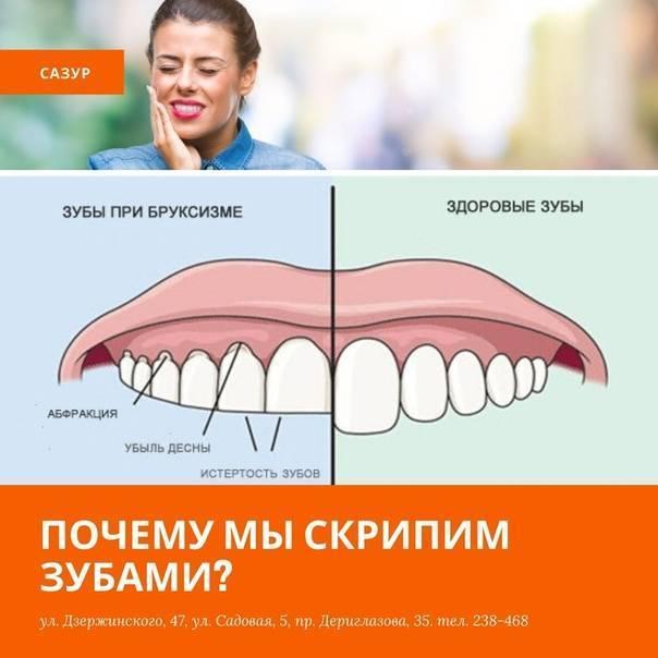 Почему ребенок во сне скрипит зубами (причины и помощь)
