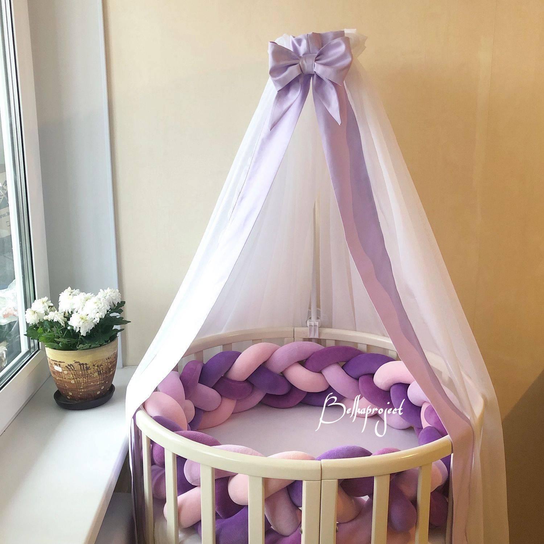 Балдахин на детскую кроватку своими руками: мастер-класс по изготовлению, а также полезные советы по выбору материала и крепления