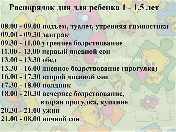 Распорядок дня ребенка в 2 года: сколько он должен спать, режим кормления и прочие вопросы + фото и видео