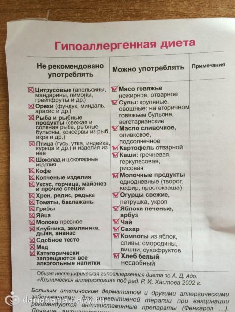 Безмолочная диета для детей: гипоаллергенные продукты, меню, рецепты блюд для детского питания - rosmedportal.ru