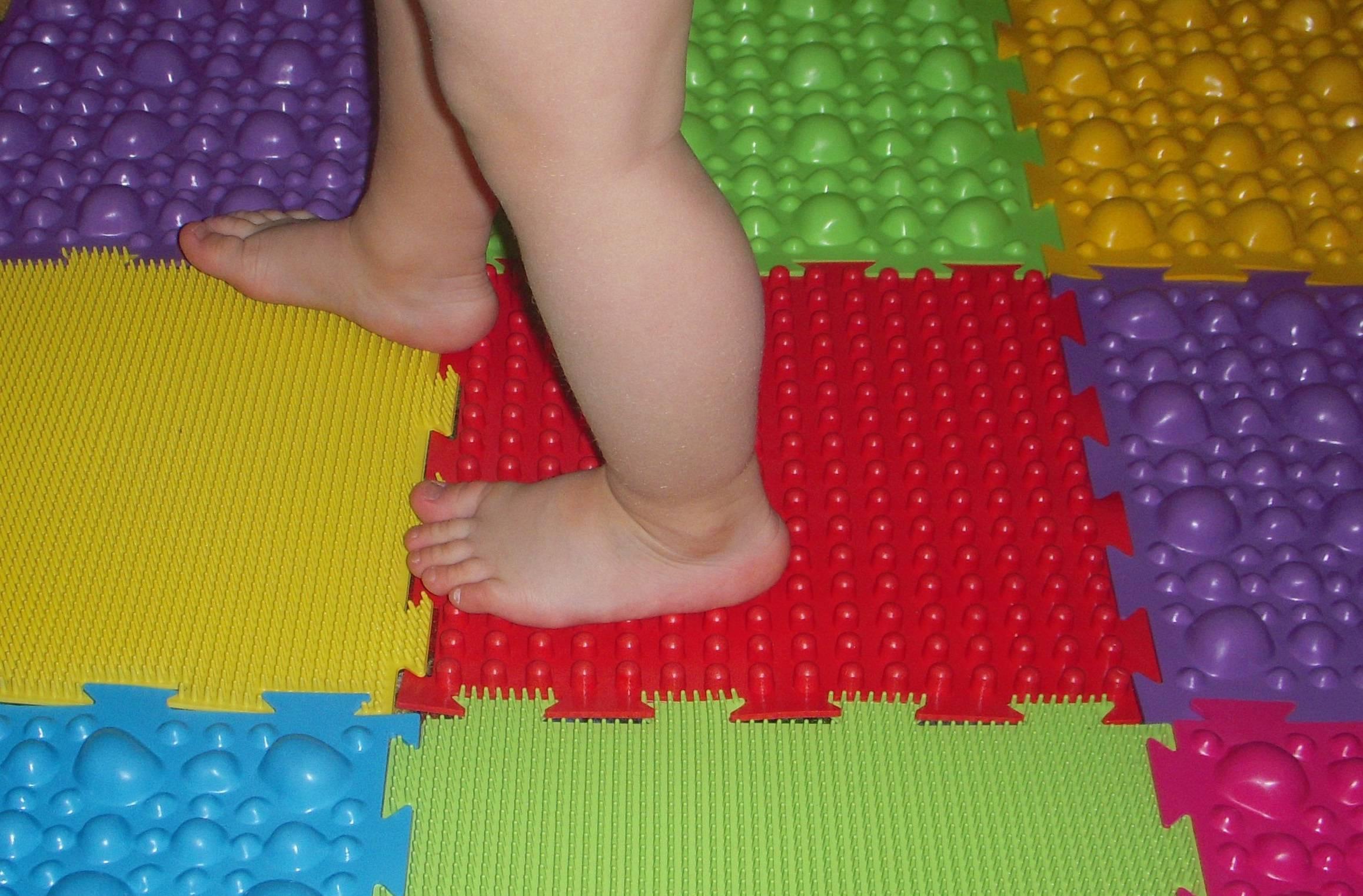 Детский коврик для лечения и профилактики плоскостопия