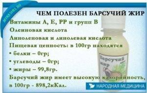 Барсучий жир от кашля для детей при температуре