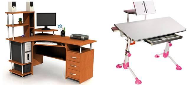 Высота стола: какая должна быть, стандарты по назначению