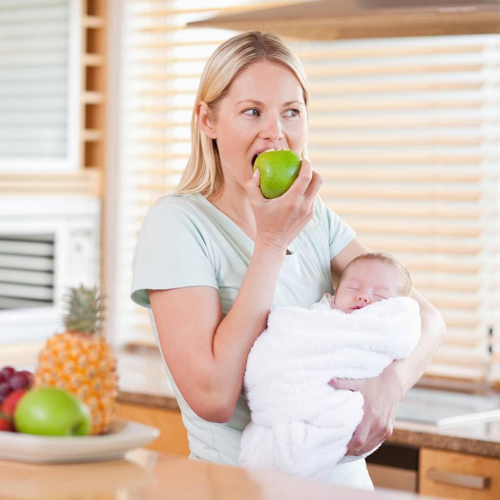 Польза и вред зефира для кормящей матери и ее ребенка