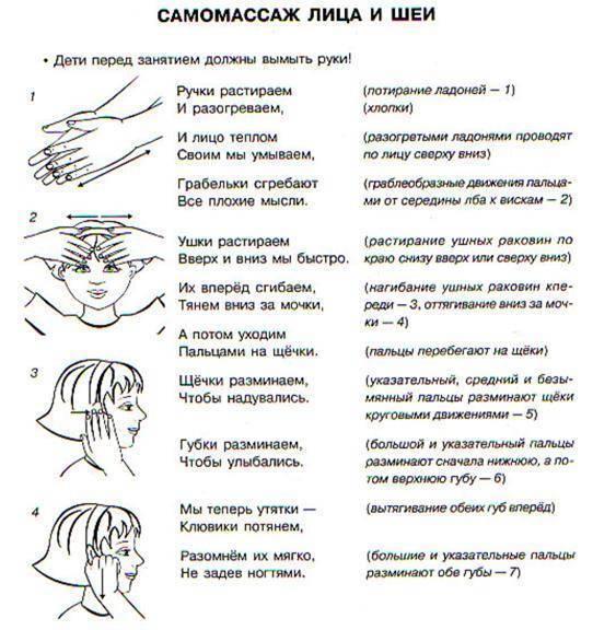 Как правильно выполнять логопедический массаж для детей в домашних условиях