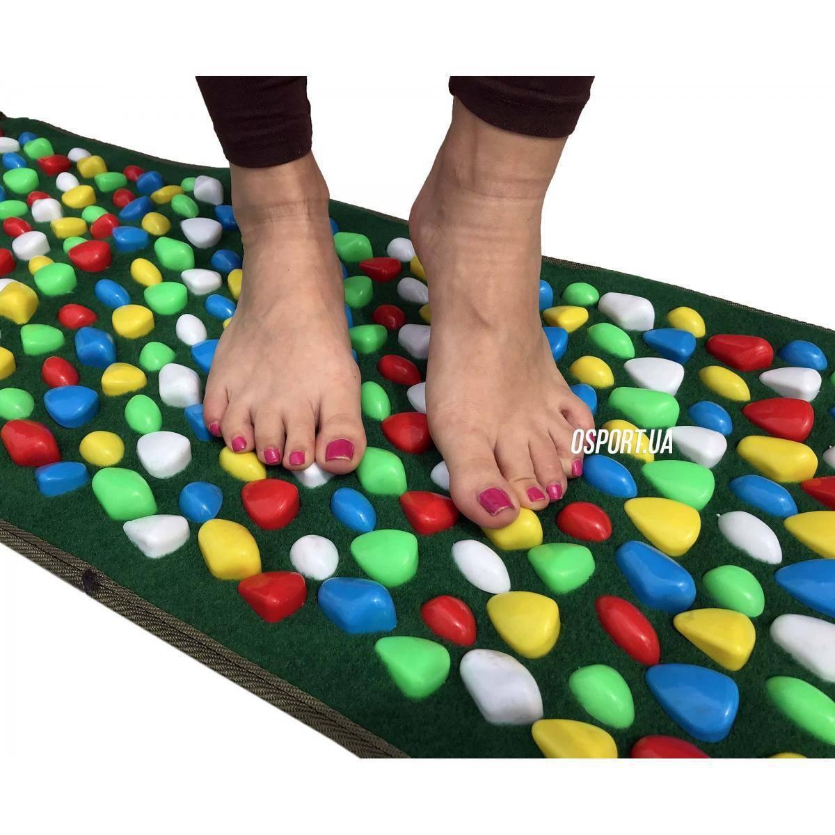 Ортопедический коврик от плоскостопия: эффективность применения