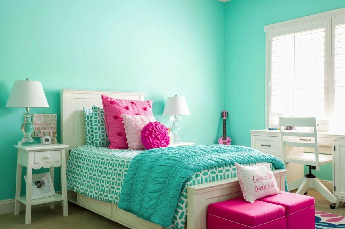 Цвет стен в детской: сочетание оттенков в интерьере комнаты для девочки или мальчика, фото примеров