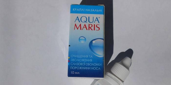 Аквамарис: инструкция по применению, названия препаратов, формы выпуска