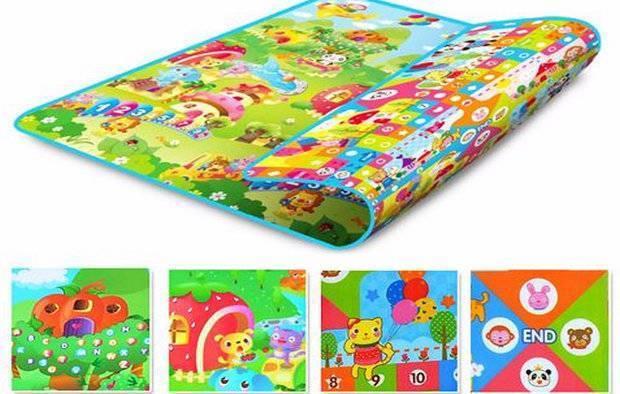 С какого возраста можно использовать развивающий коврик для детей