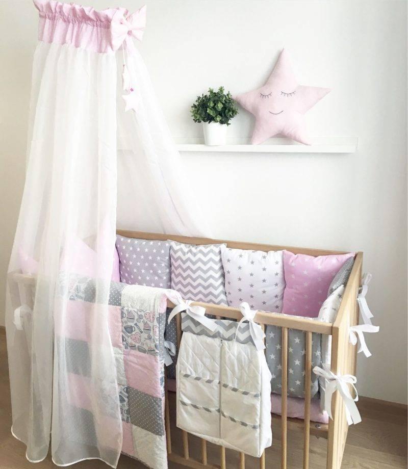 Как повесить балдахин на детскую кроватку: основные способы крепления