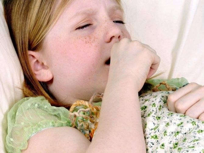 Симптомы кашля, вызванного появлением глистов