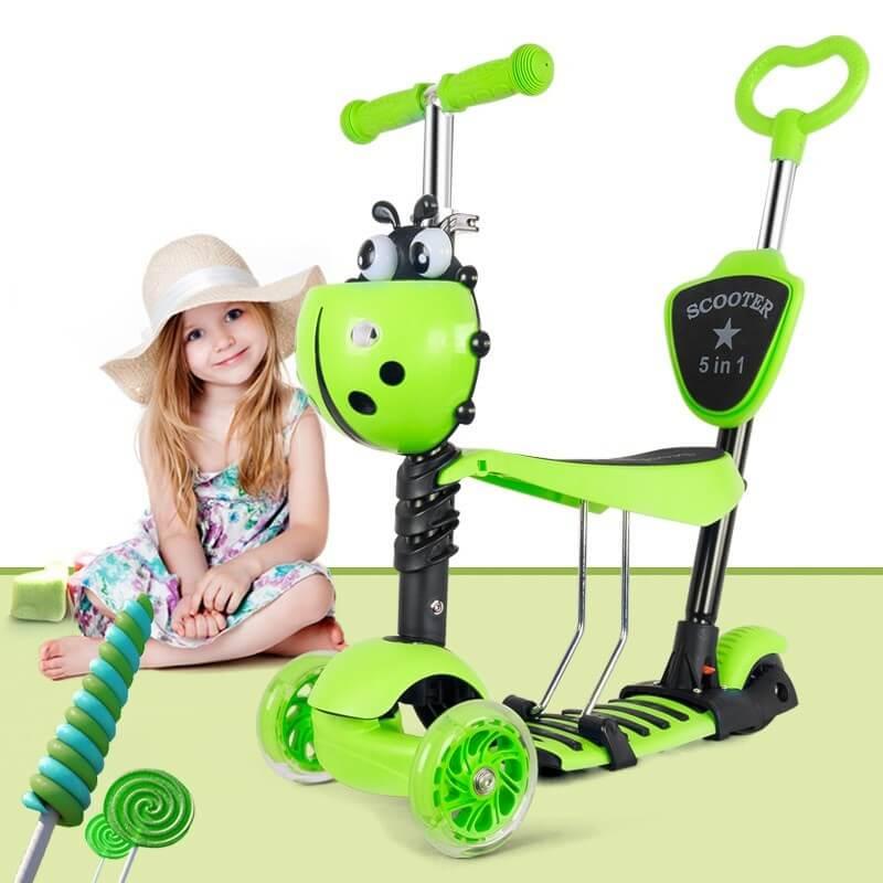Как выбрать самокат для ребенка от 2-3 до 5-7 лет и научить его кататься?   покупки   vpolozhenii.com