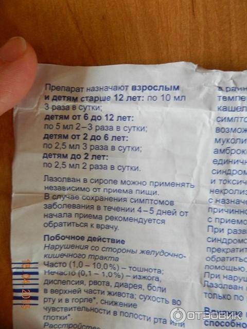 Лазолван: инструкция по применению, сироп для детей, раствор для ингаляций, цена, отзывы, аналоги, таблетки