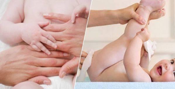 Массаж от коликов у новорожденных: видео массирования животика грудничка | симптомы | vpolozhenii.com