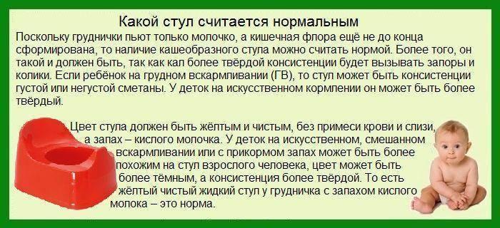 Зеленый понос у ребенка: что делать, если понос зеленого цвета