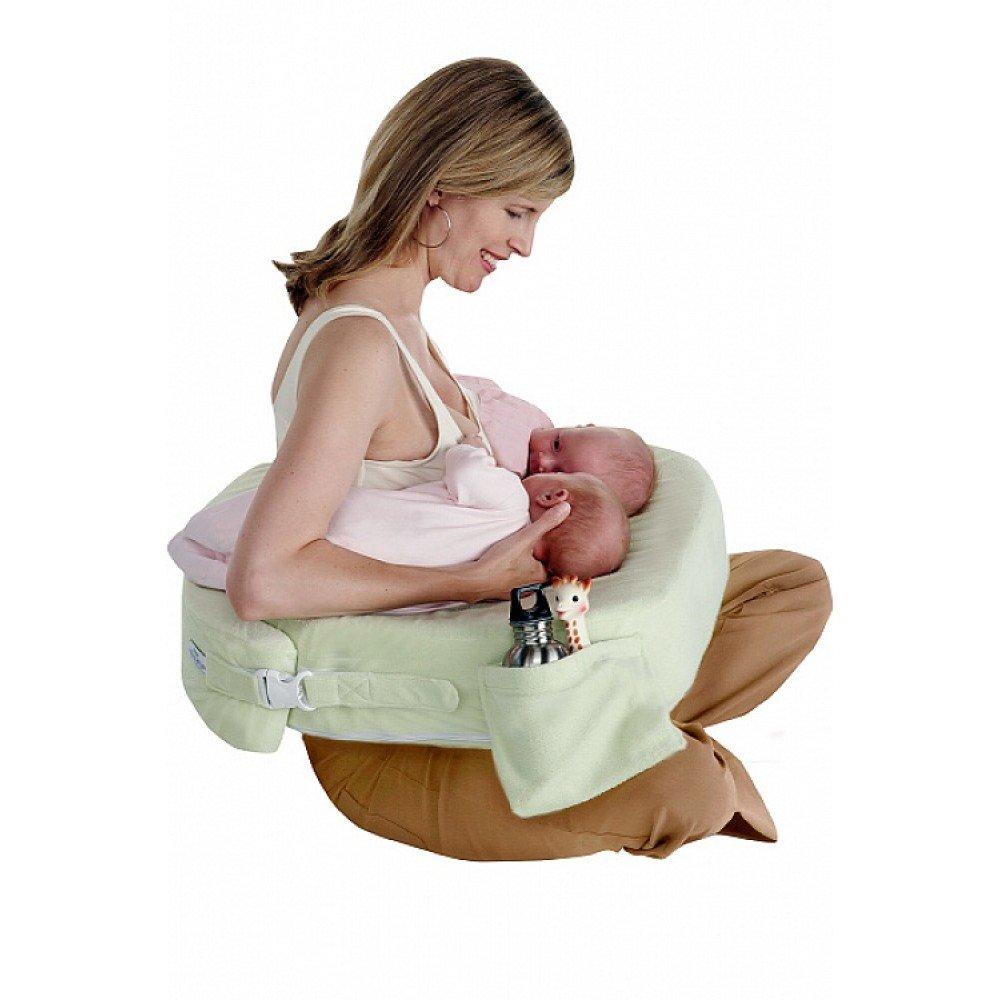 Подушка для кормления грудного ребенка, двойни - как пользоваться, виды