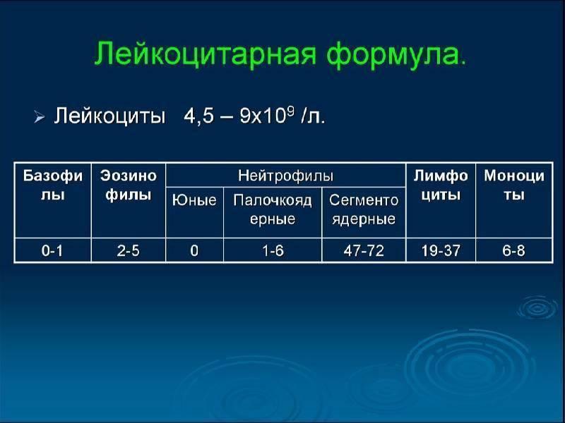 Нормы общего анализа крови у детей. расшифровка результатов анализа крови у детей.