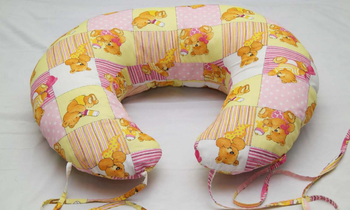 Как сшить подушку для кормления двойни своими руками