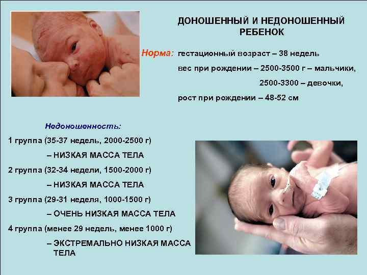 С какой недели ребенок считается доношенным? во сколько недель бывает доношенная беременность? признаки доношенности. почему бывает маловесный ребенок при рождении на доношенном сроке?