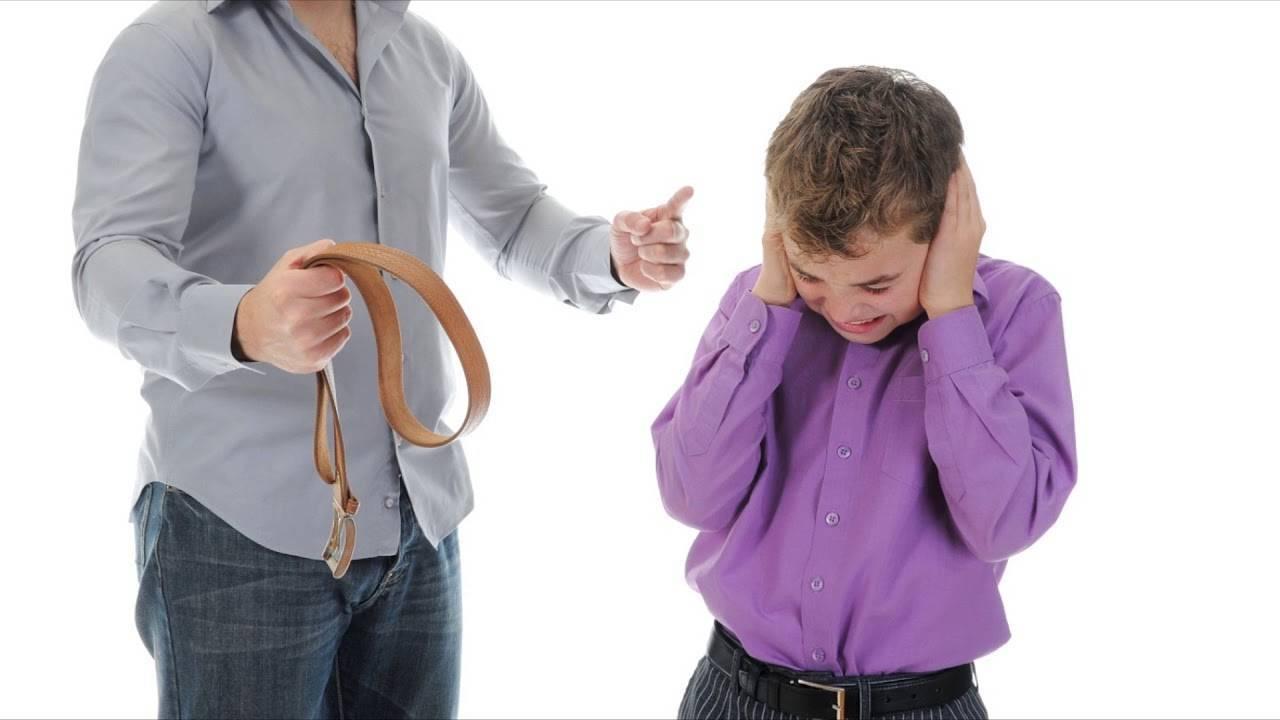 Можно ли бить детей в целях воспитания, нужно ли наказывать ремнем (психология)