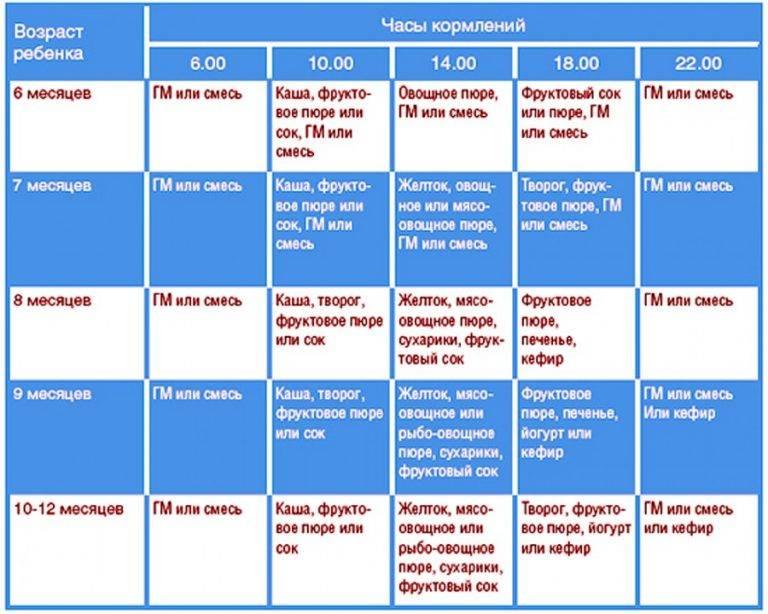 Питание ребенка 4 лет: режим, рацион, меню на день