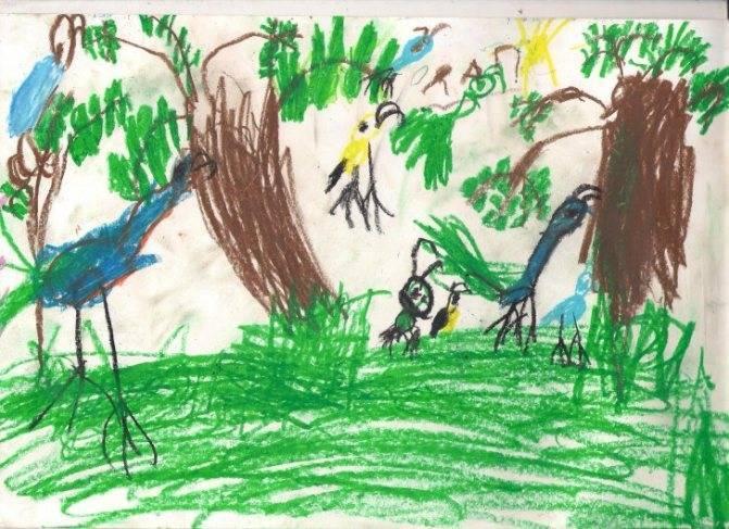 Почему ребенку нравится рисовать черной краской: психология цвета в детских рисунках - врач 24/7