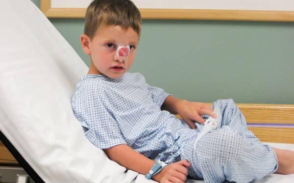 Перелом носа у ребенка симптомы - педиатор