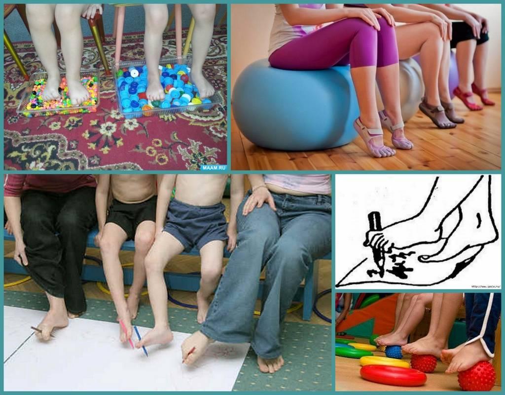 Массаж при плоскостопии у детей: симптомы, лечение и лфк упражнения