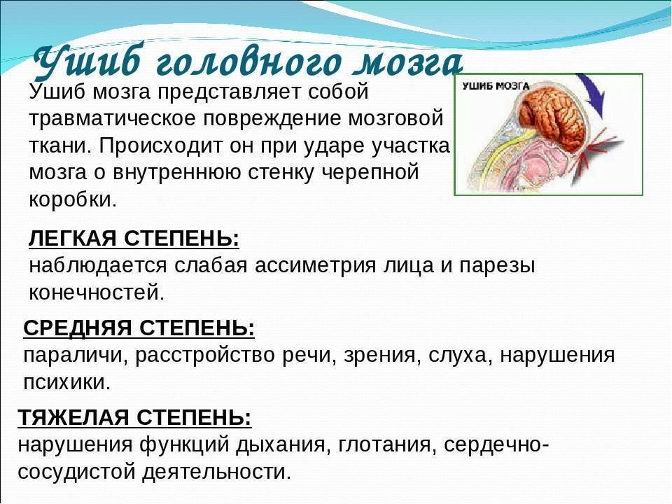 Ушибы головы и черепно-мозговые травмы у детей: классификация, причины и симптомы, лечение - rosmedportal.ru