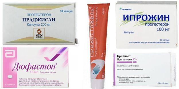 Какой препарат лучше «ипрожин» или «утрожестан»?