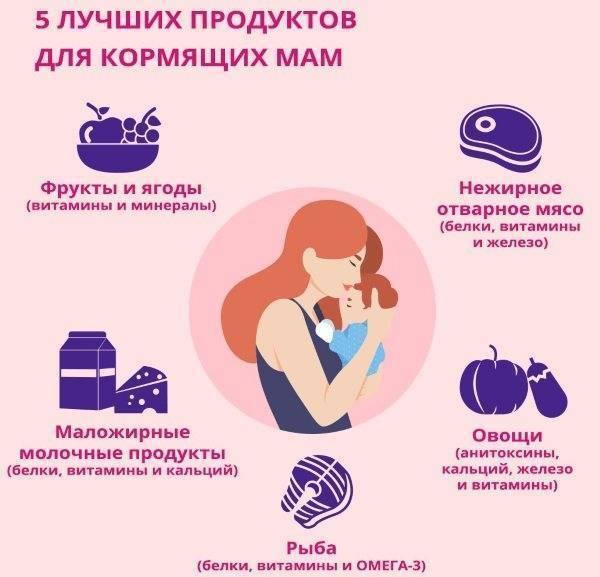 Что можно и нельзя кушать кормящей маме в первые месяцы после родов — топотушки