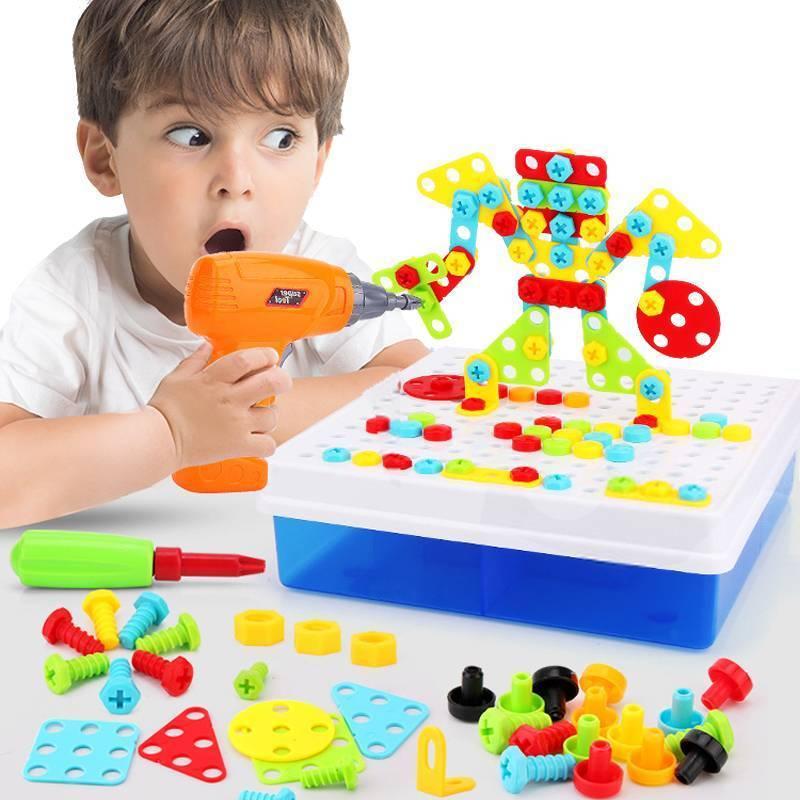 Развивающие игрушки для детей от 1 года – купить или сделать своими руками?