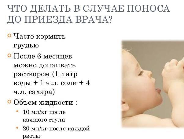 Понос и температура 38-39 у ребенка: причины и что делать
