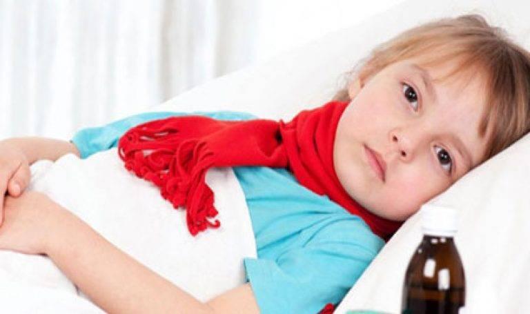 Ангина у грудничка и новорожденного: причины, симптомы, лечение