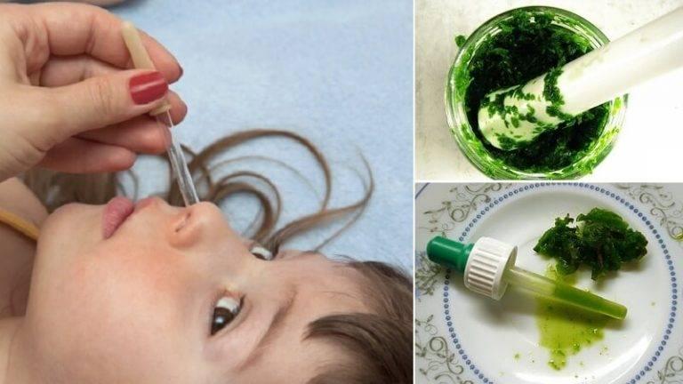Как и чем лечить зеленые сопли у детей