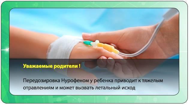 Передозировка нурофеном - признаки, первая помощь передозировка нурофеном - признаки, первая помощь