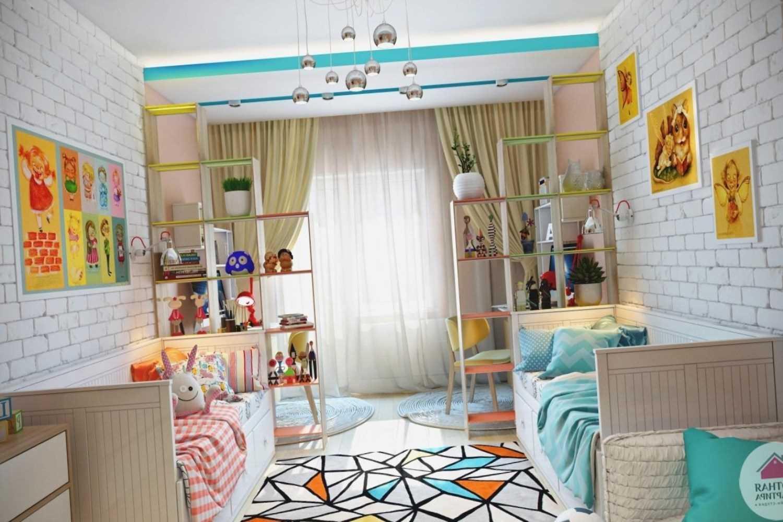 Интерьер детской комнаты для разнополых детей