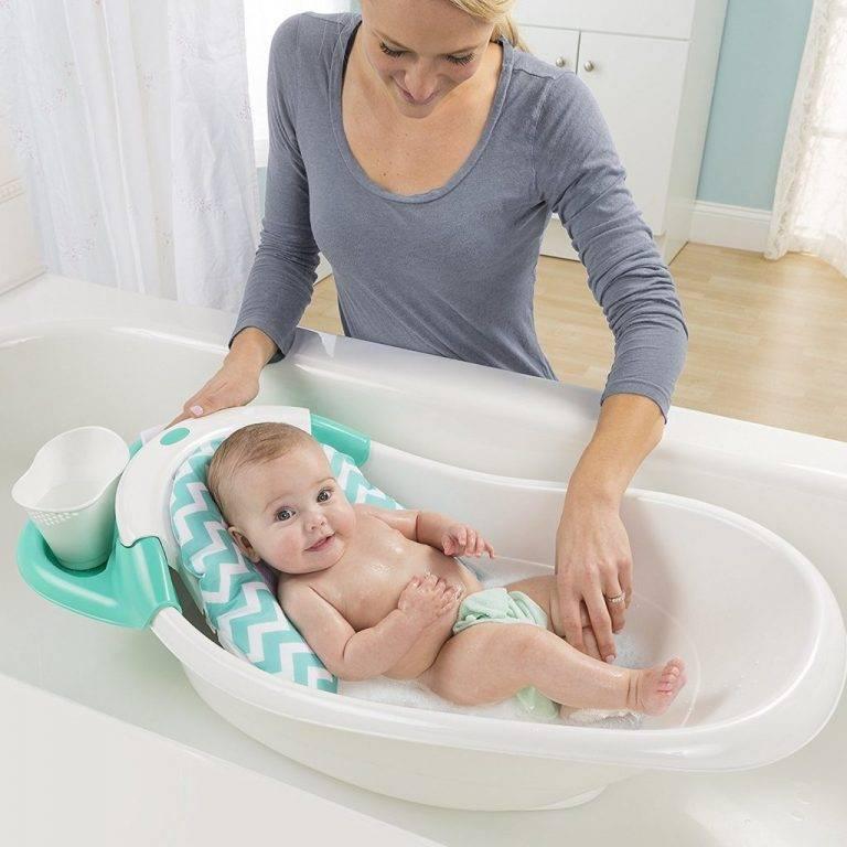Как купать новорожденного в ванночке: советы и рекомендации