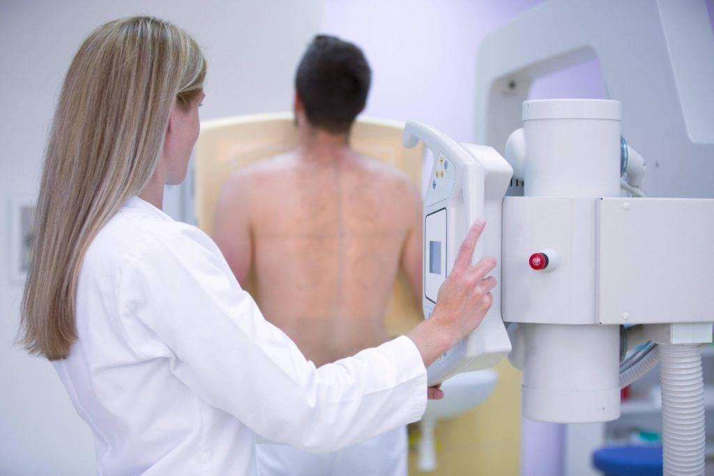 Рентген легких ребенку