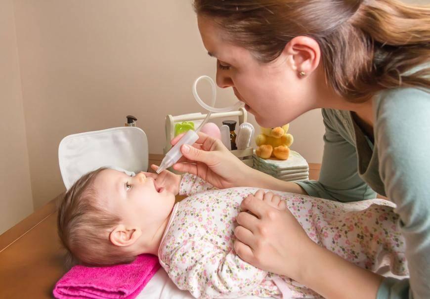 Что делать, если заложен нос у ребенка без соплей