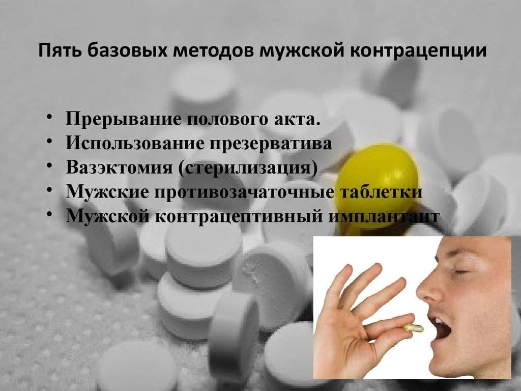 Мужская контрацепция: виды, способы применения, надежность средств мужской контрацепции и противопоказания