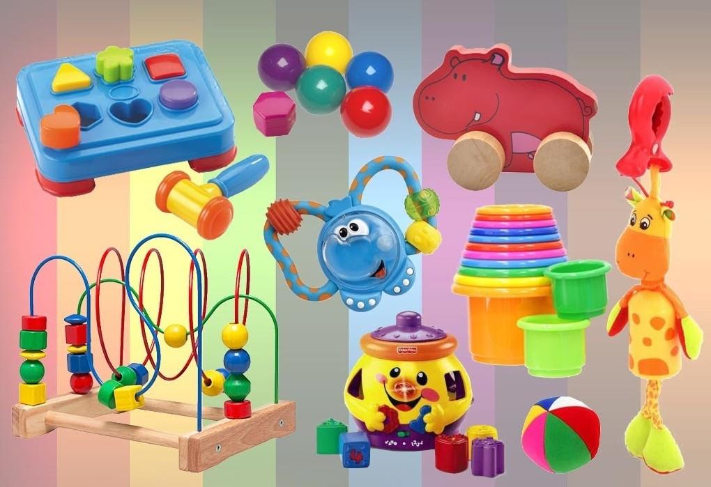 Игрушки для 9-месячного ребенка