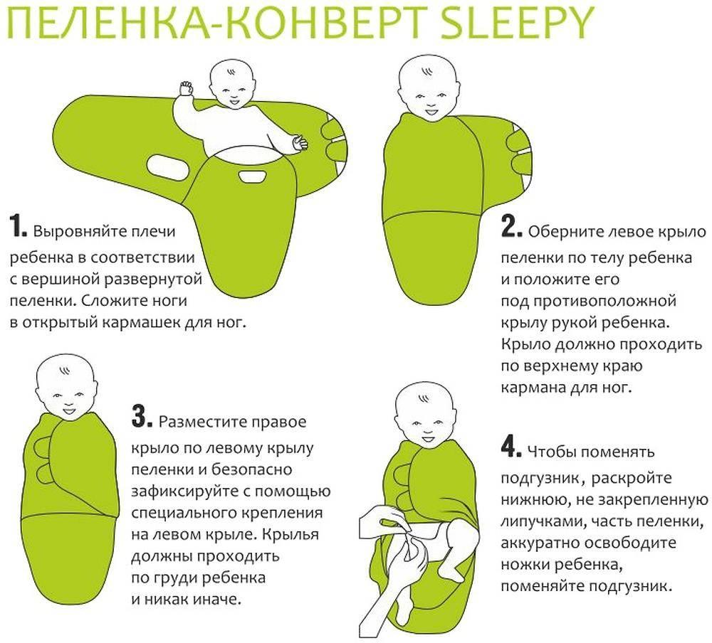Пеленка для сна новорожденного