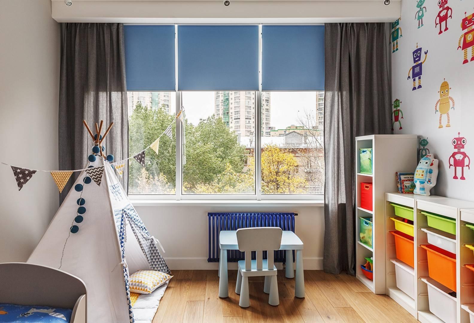 Лучшие шторы в детскую комнату, фото примеры красивых современных моделей 2018 года