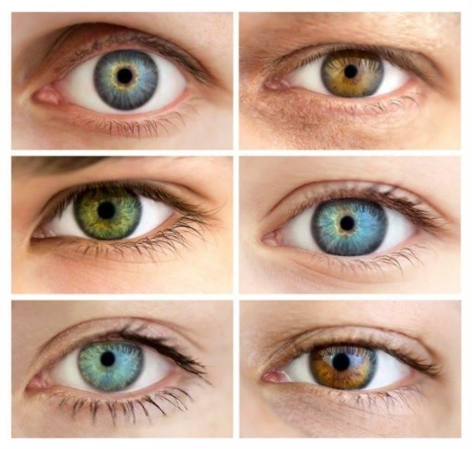Когда у детей начинает меняться цвет глаз