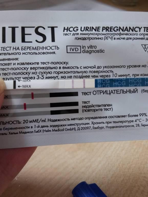 Может ли тест не показать беременность, в каких случаях это происходит / mama66.ru