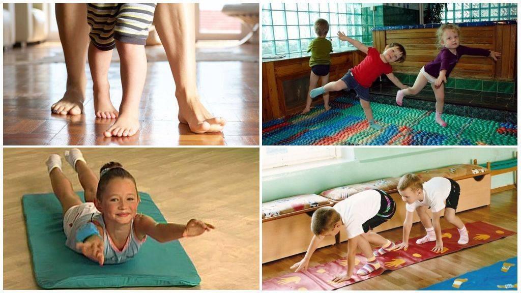 Косолапость у детей, признаки, лечение, массаж