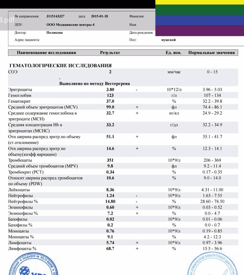 Эозинофилы повышены у ребенка симптомы. определяем уровень эозинофилов в крови ребенка: нормы по взрасту, причины повышенных и пониженных показателей. затем располагаются в тканях