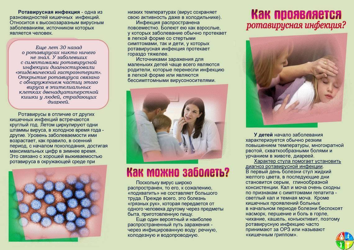 Ротовирусная кишечная инфекция, симптомы и лечение у детей